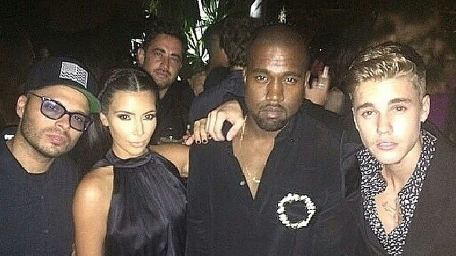 The Tiny Prince of Ibiza Parties On, While Kim and Paris Make Peace