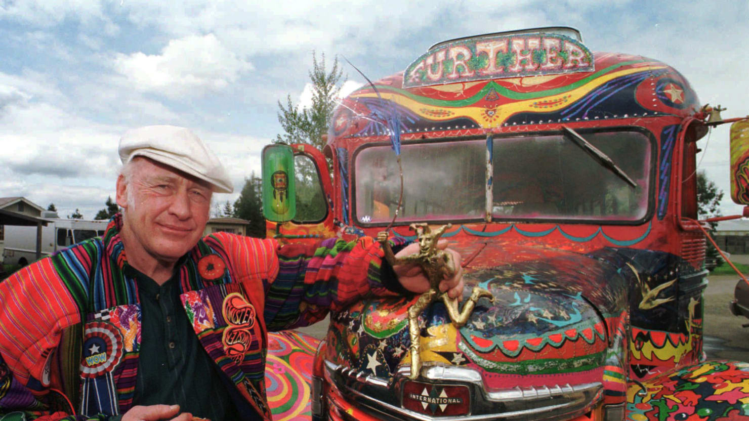 On the Road With Kesey s (Drug Free) Acid Test