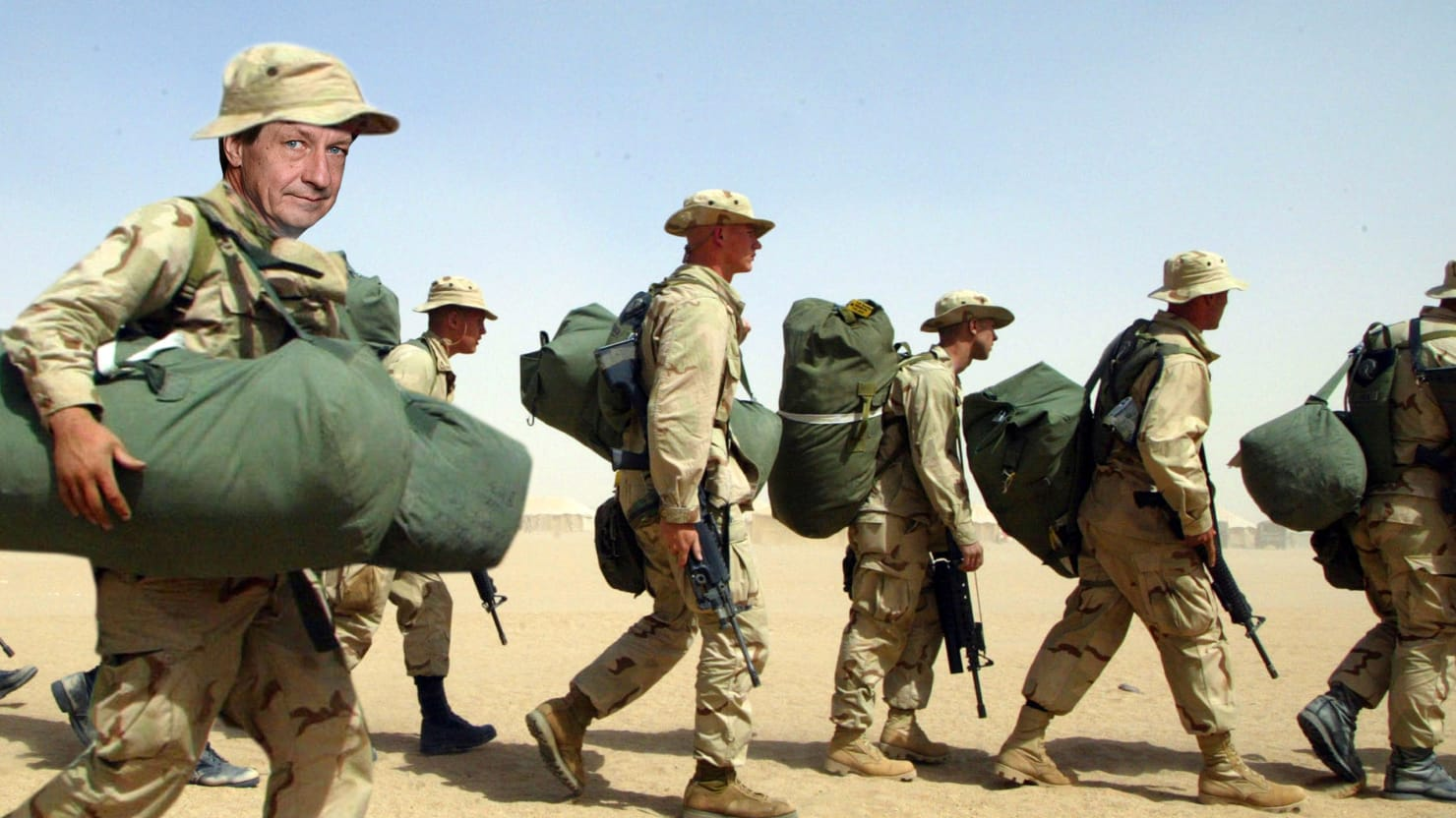 Up to a Point: Shrugging Our Way Back to War in Iraq