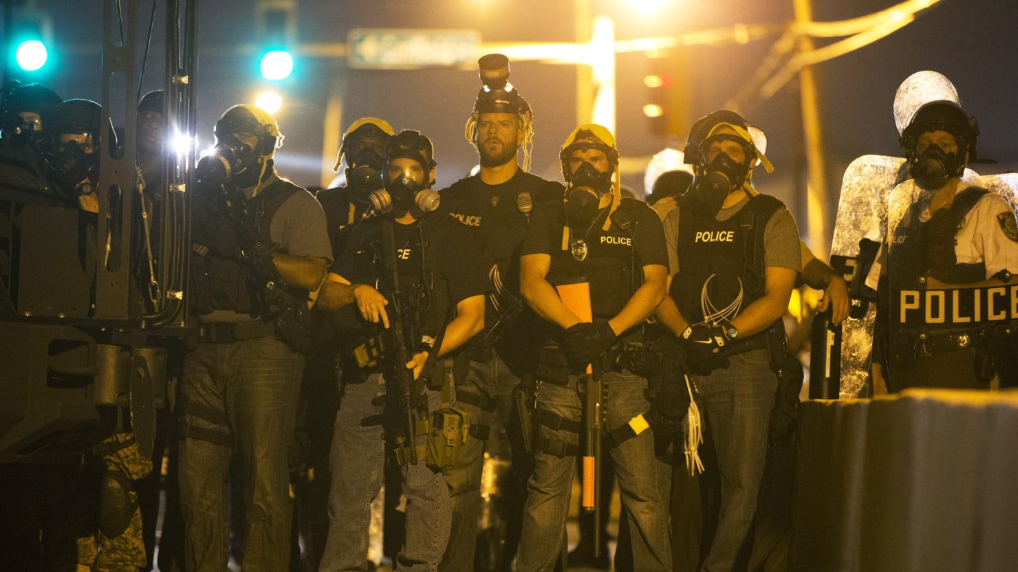 Ferguson's Cops Are Armed Like I Was in Iraq