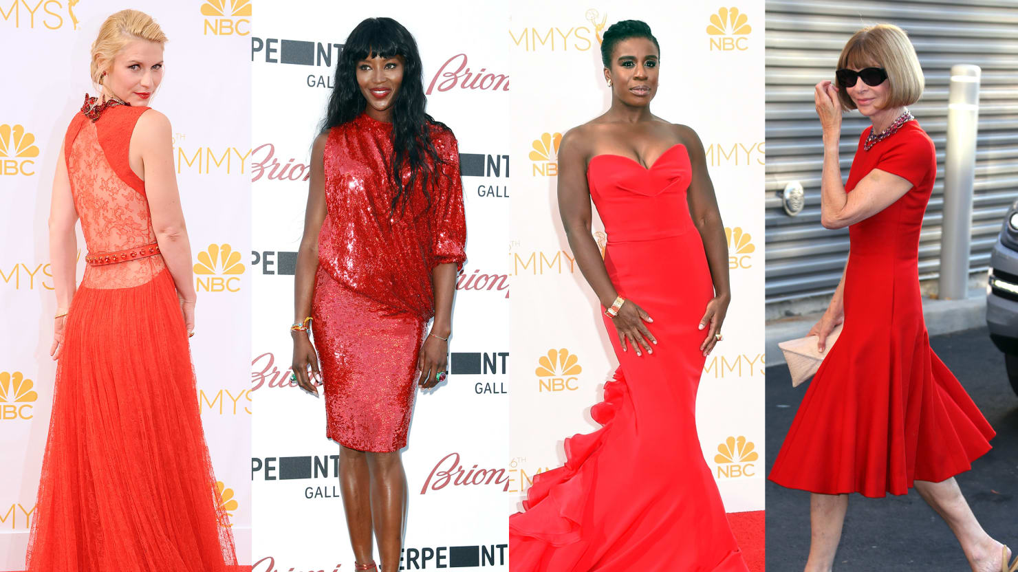 Ladies in Red: Celebs in the Summer's Hottest Color (Photos)