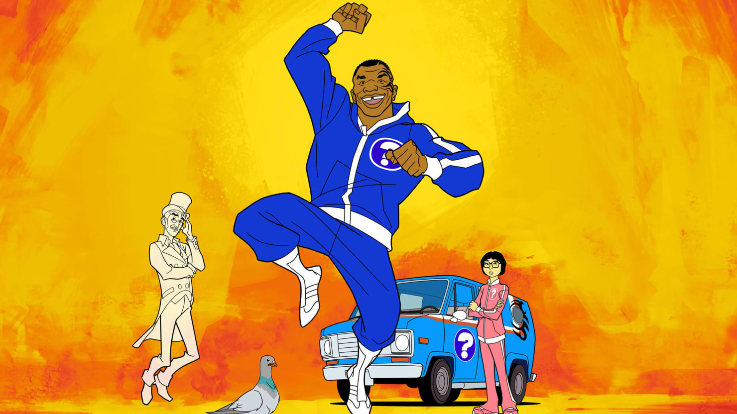 Mike Tyson Reinvents Himself (Again) as a Cartoon TV Detective on 'Mike Tyson Mysteries'