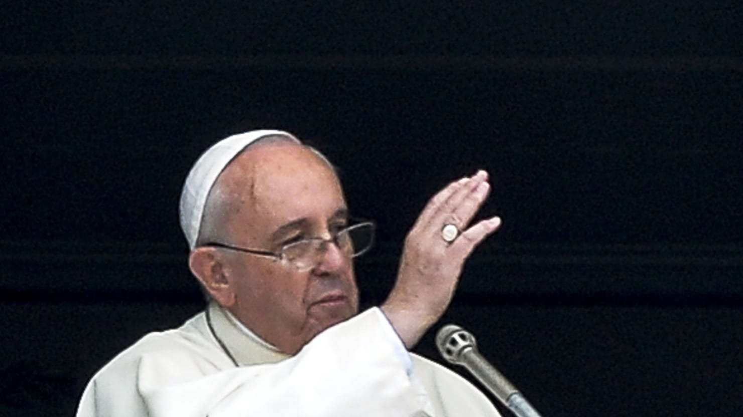 What Would Jesus Do in Gaza? The Tears of Pope Francis Point the Way