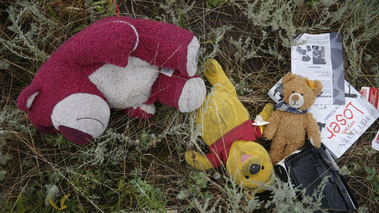 In the Killing Fields of Ukraine with Children Who Saw the MH17 Horror