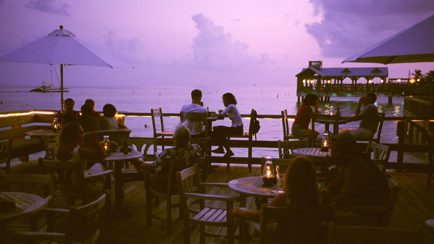 Jimmy Buffett was an early fan of Louie's Backyard, the enchanting  restaurant on the Key West shore that embraces Conch cuisine, serving up  surprising and ... - A Magical Meal At Louie's Backyard In The Conch Republic