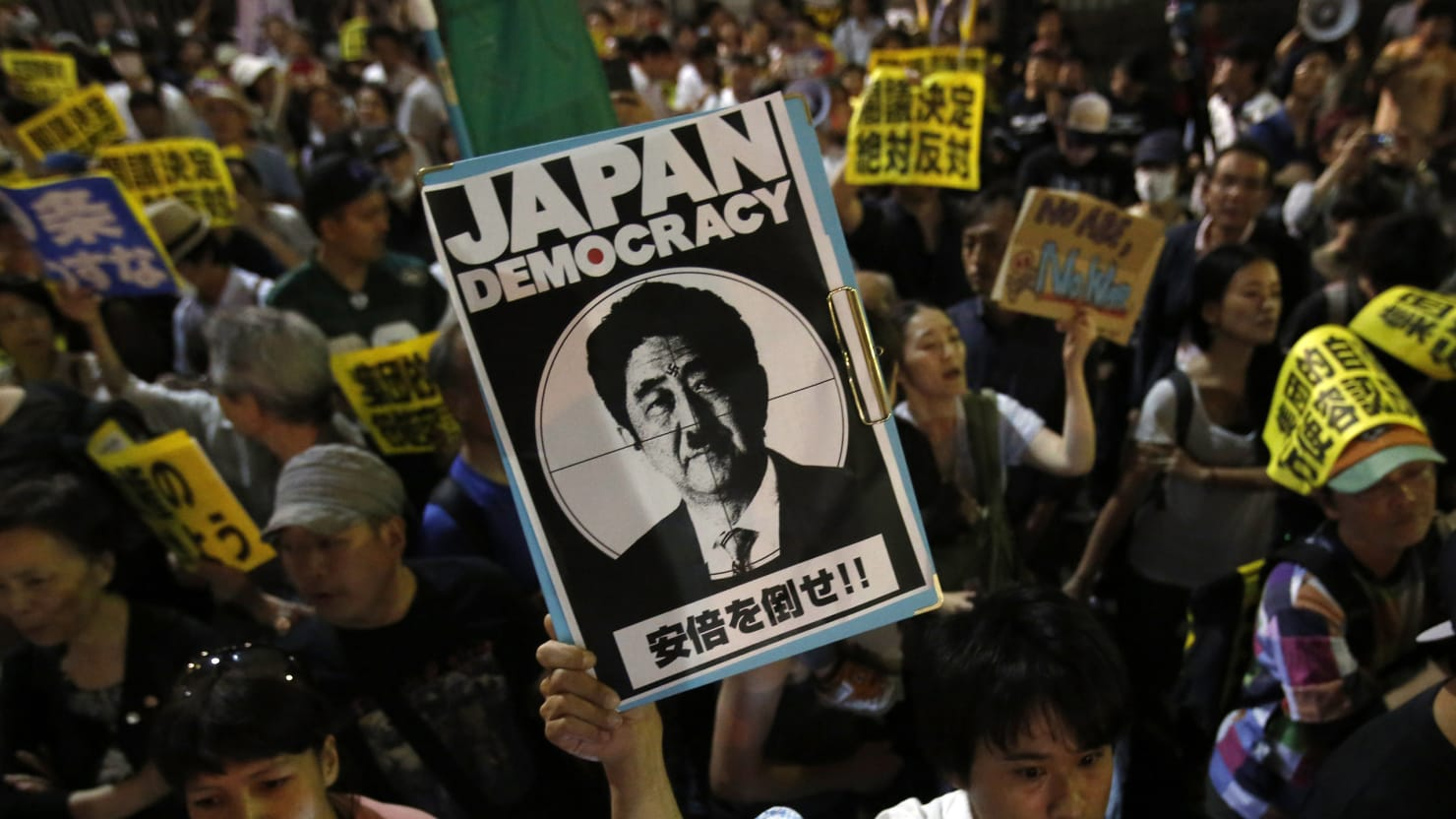 Suicidal Anti-war Protest Shocks Japan as It Rethinks Pacifist Constitution