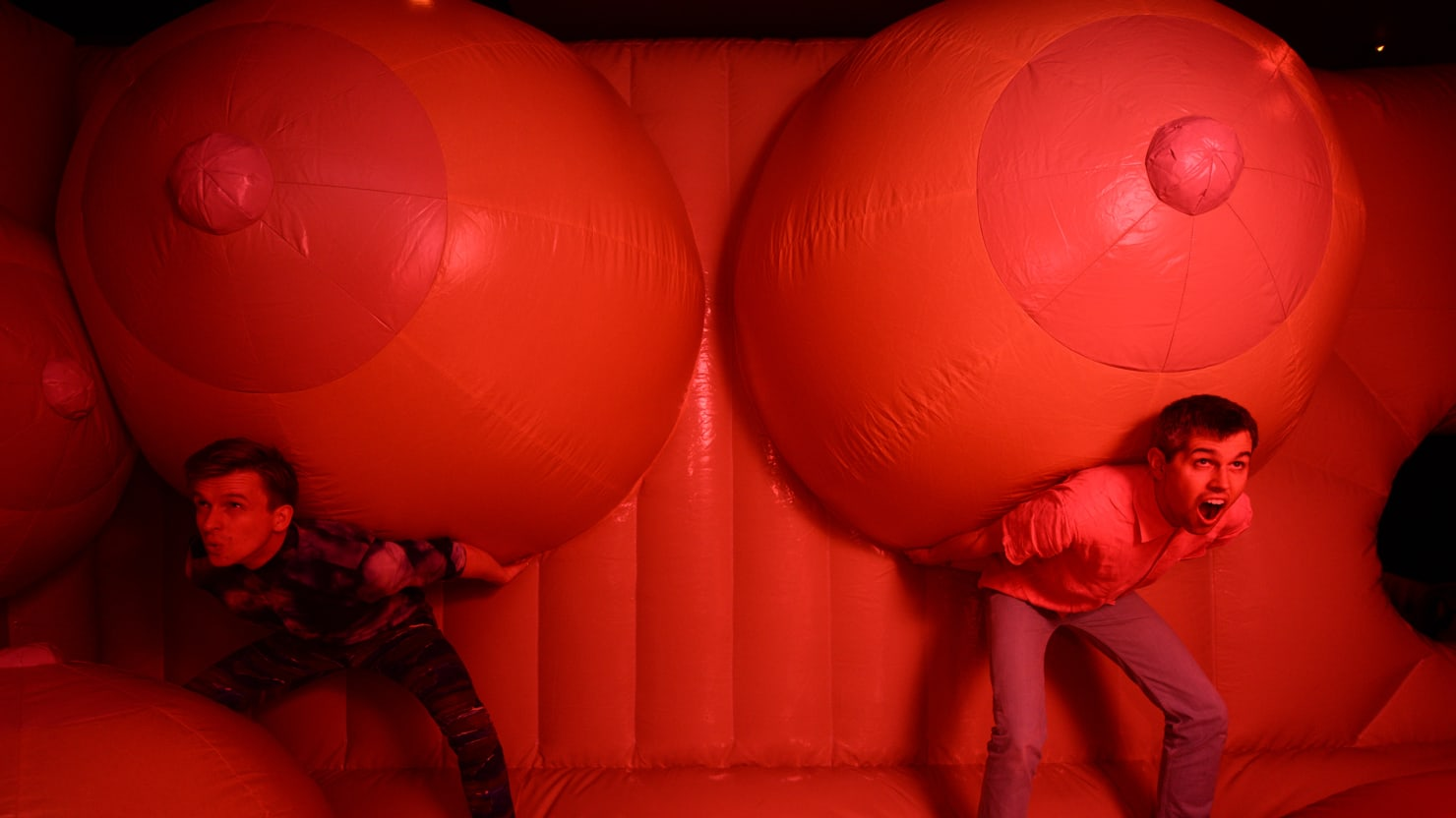 A Bouncy House of Boobs, A Quest for the G-Spot, and More Erotic Fun at the Carnival of Sex