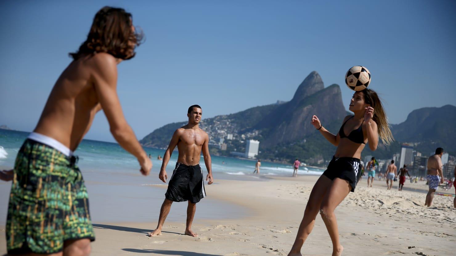 Girl porn young bikini girls ipanema beach