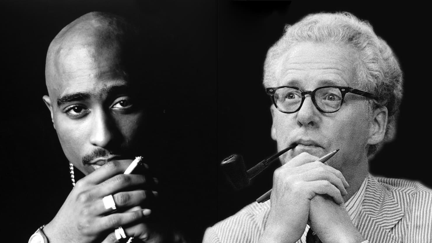 Tupac and Murray Kempton: The Godfather Who Wore Tweed