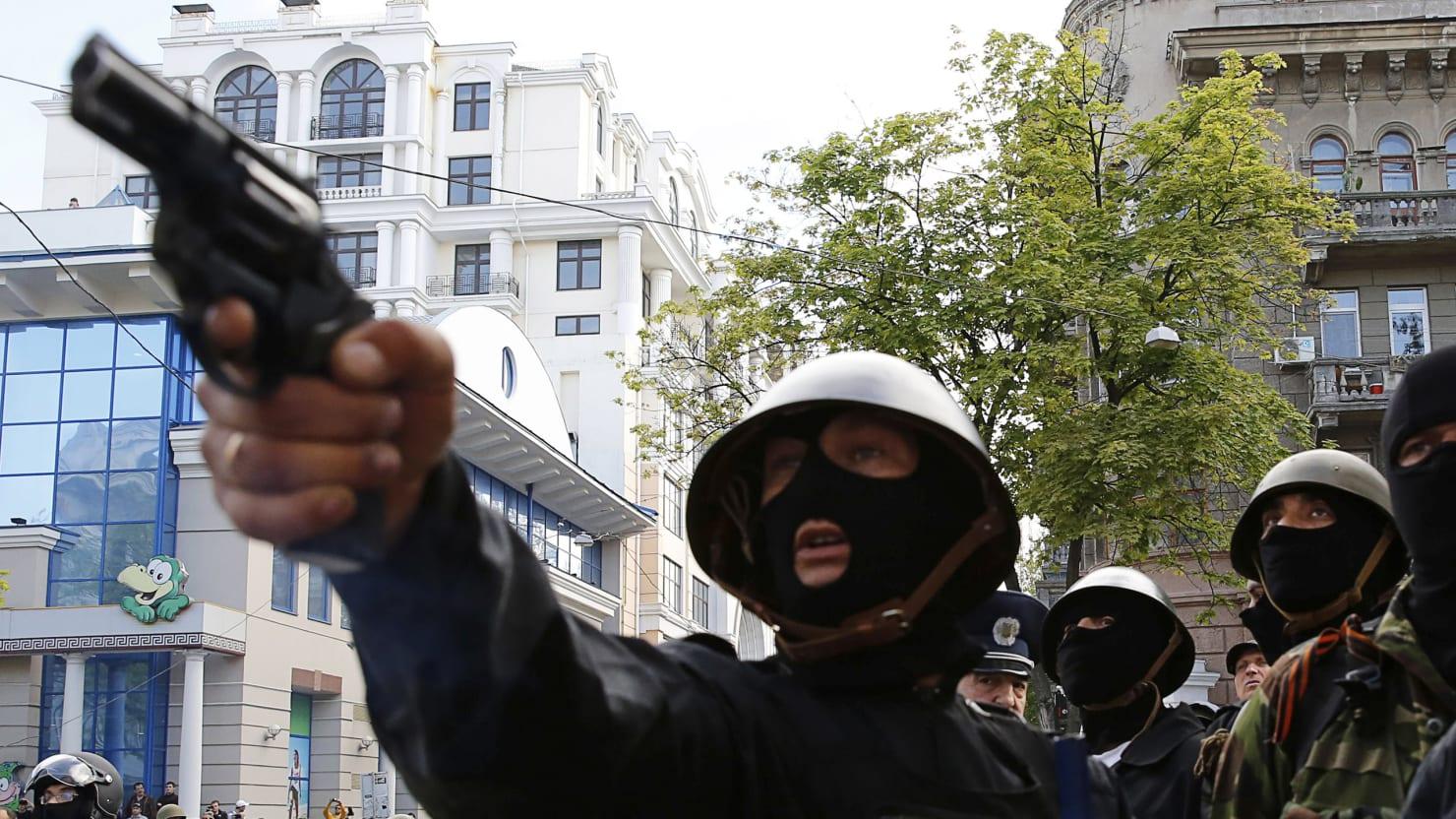 Carnage in Ukraine: Dozens of Pro-Russia Activists Die in Odessa