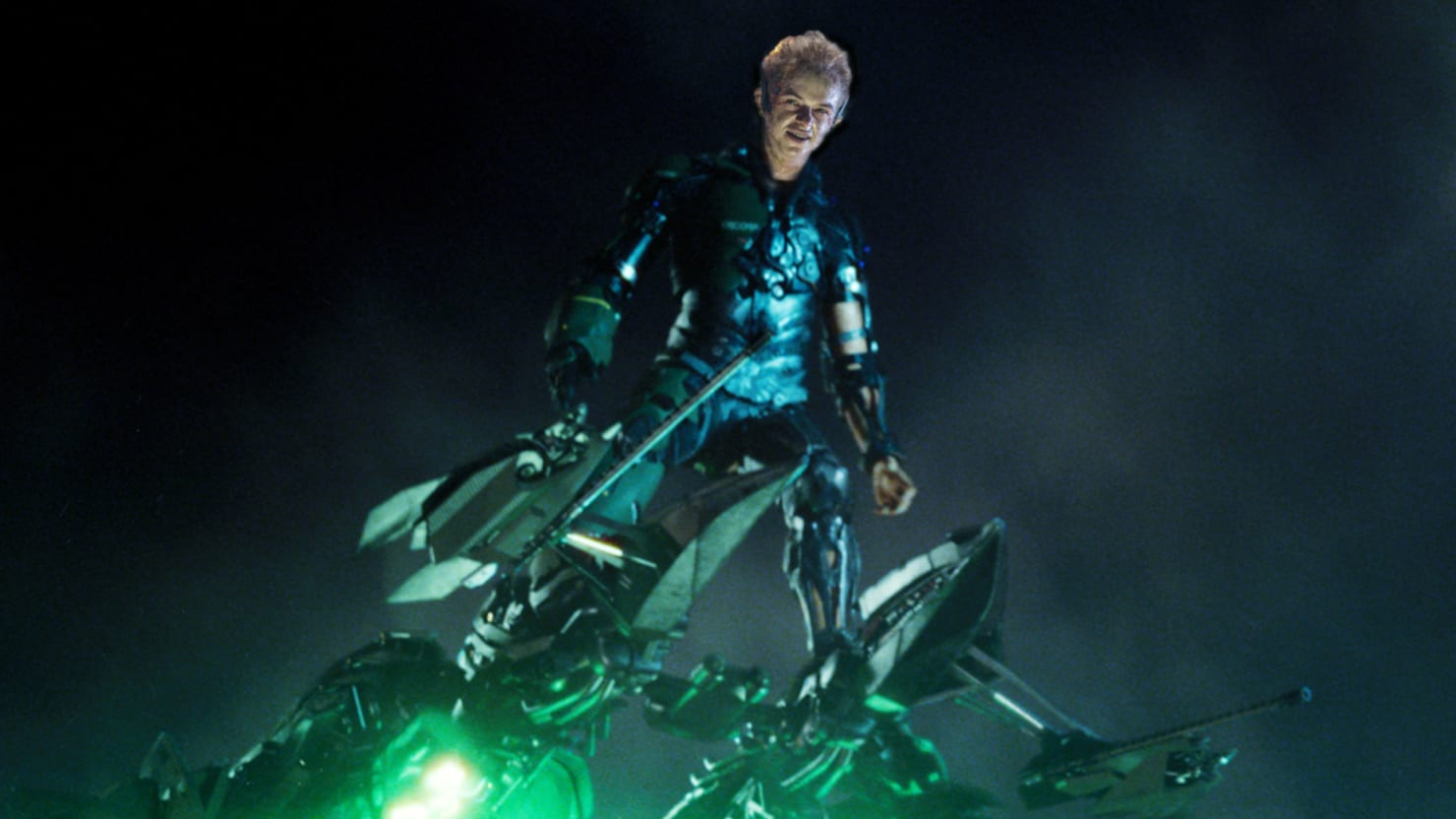 The amazing spider man 2 green goblin suit