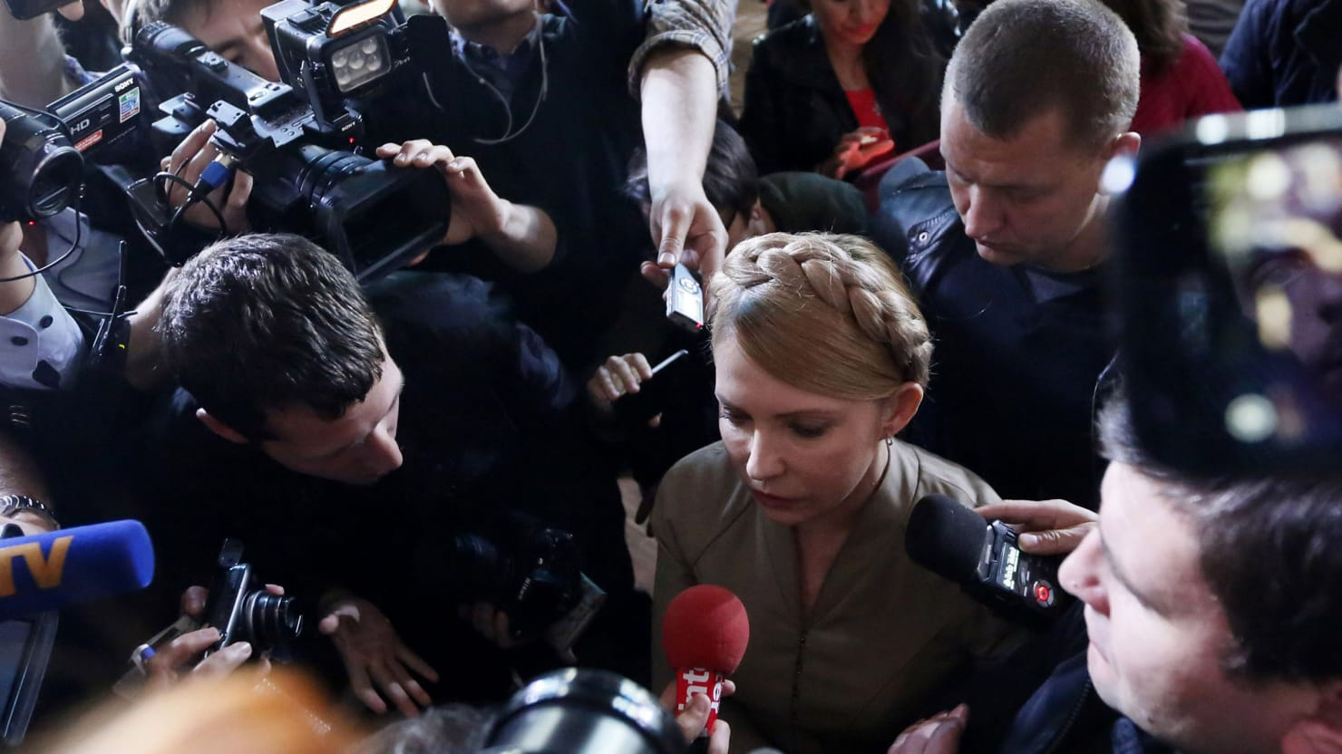 Ukraine's Iron Lady Refuses to Give Up