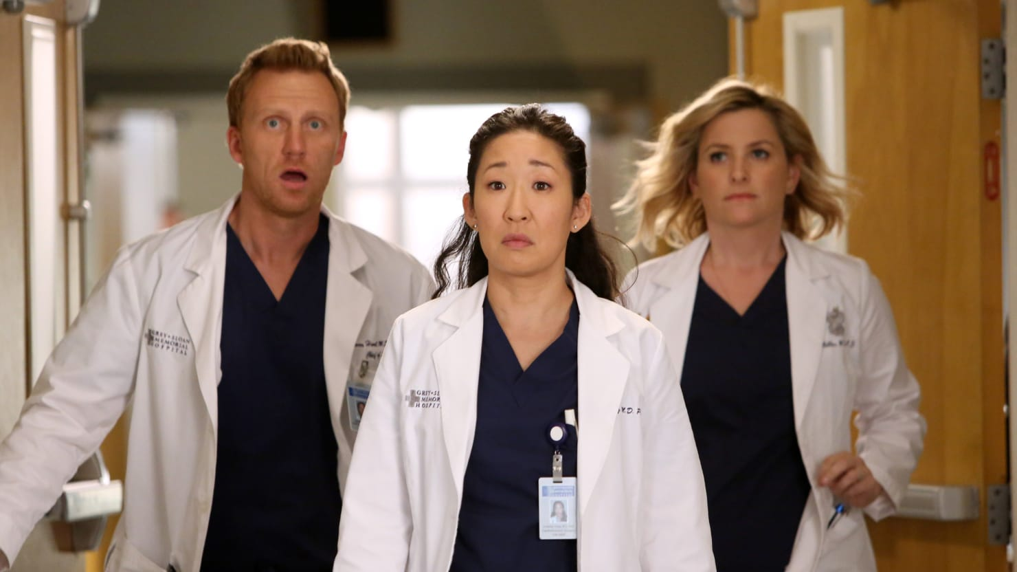 Sandra Oh Says Goodbye to Grey\'s Anatomy