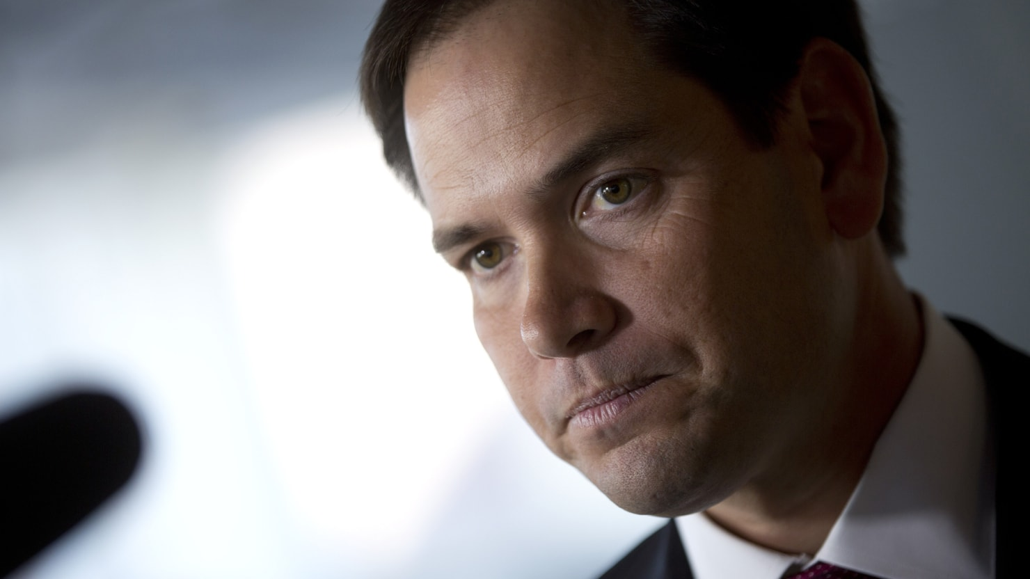 Forget the White House, Marco Rubio Might Be Lucky Just to Be Reelected