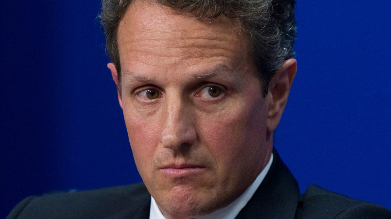 Speed Read: The Juiciest Bits From Timothy Geithner's New Memoir