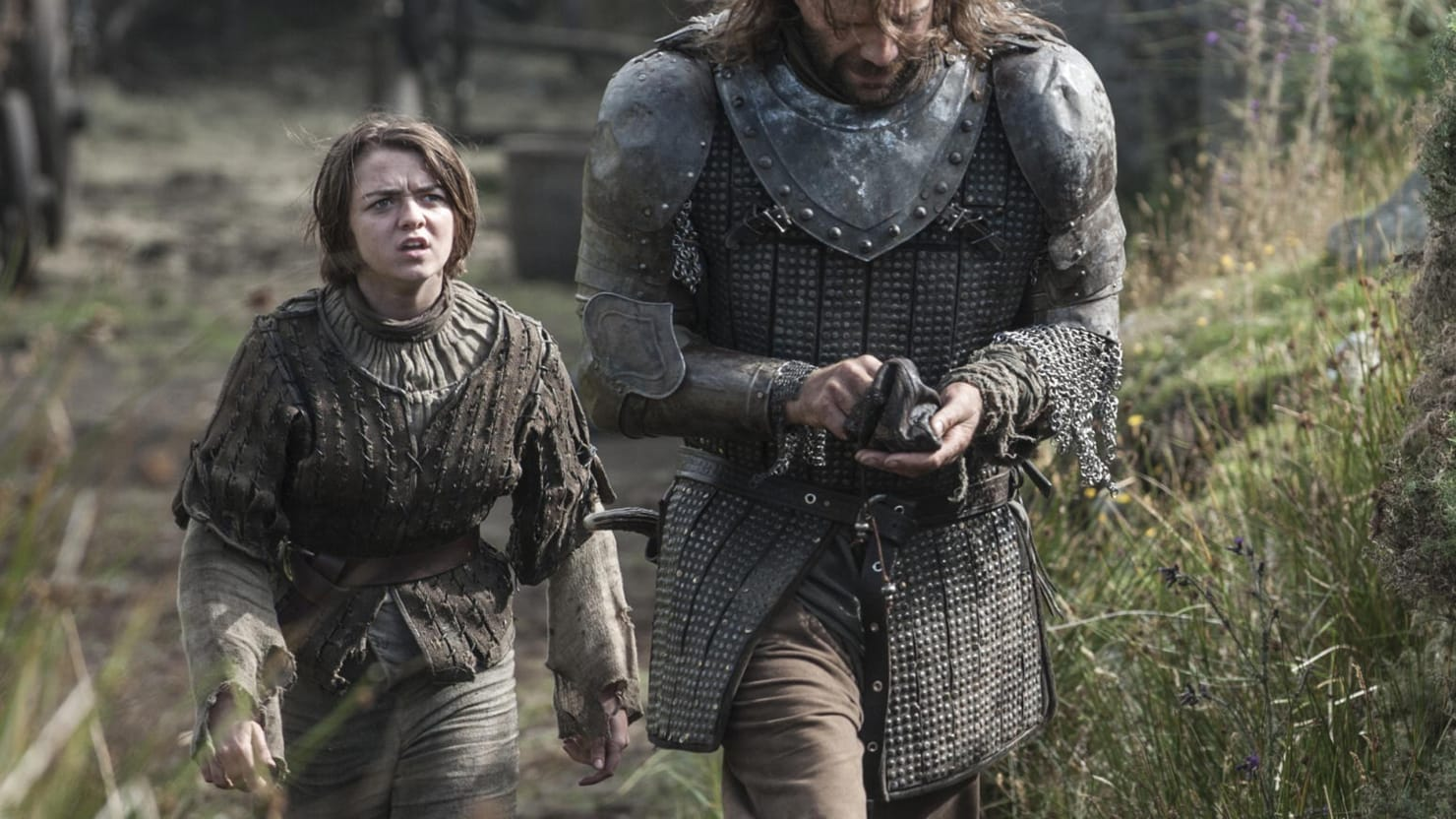 'Game of Thrones' Star Maisie Williams, aka Arya Stark, on Her Big Premiere Episode 'Two Swords'