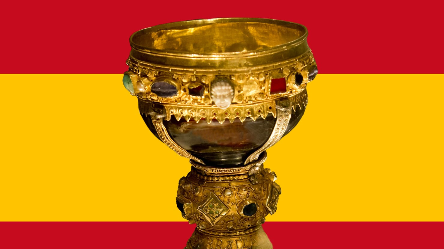 spain s new holy grail jesus couldn t afford that kind of bling