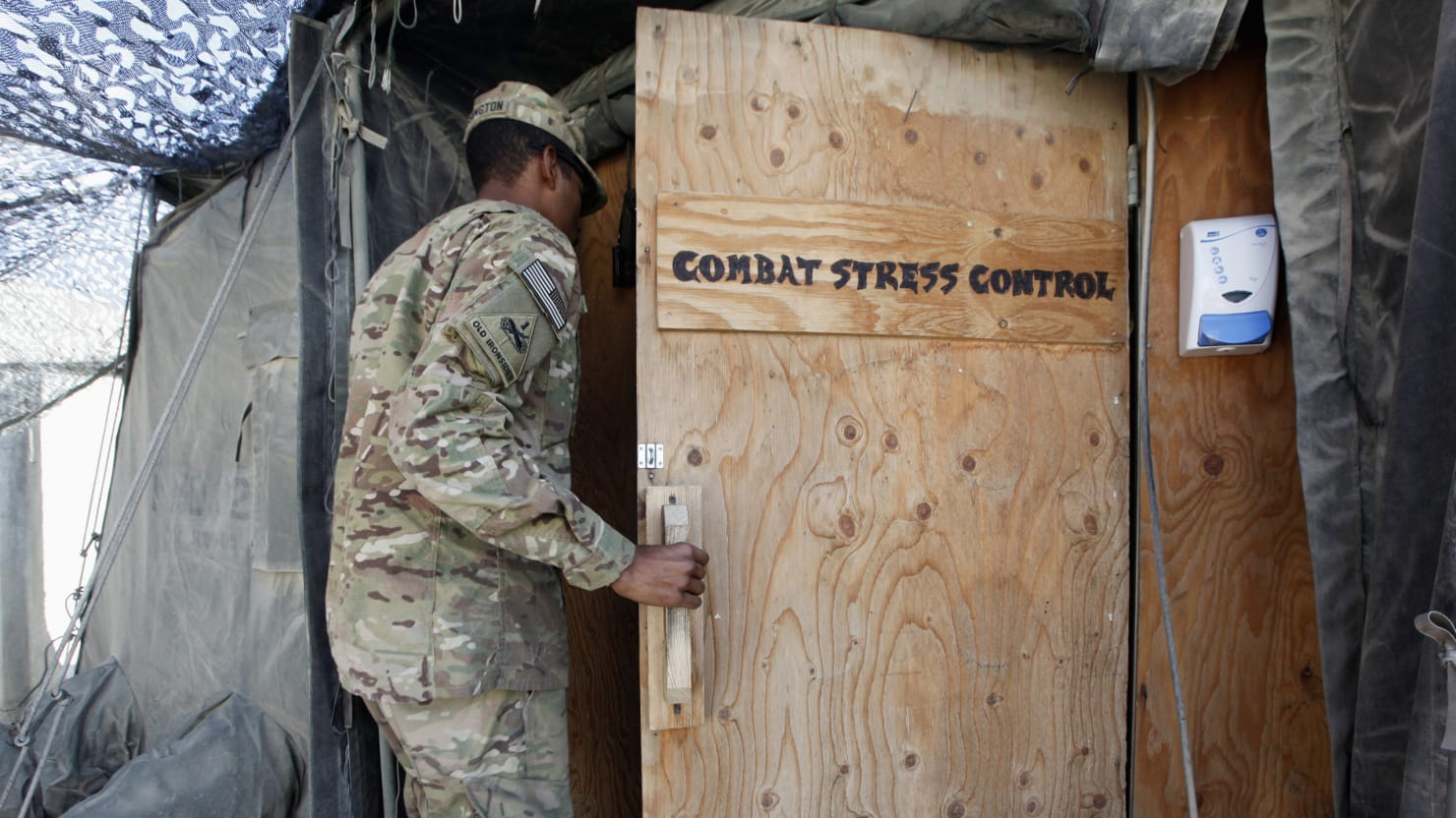Fixing Military Mental Healthcare