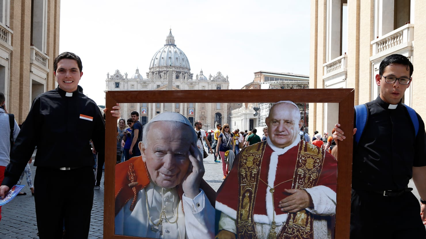Popes, Saints, Miracles, Weird Relics and Odd Omens Converge on Rome