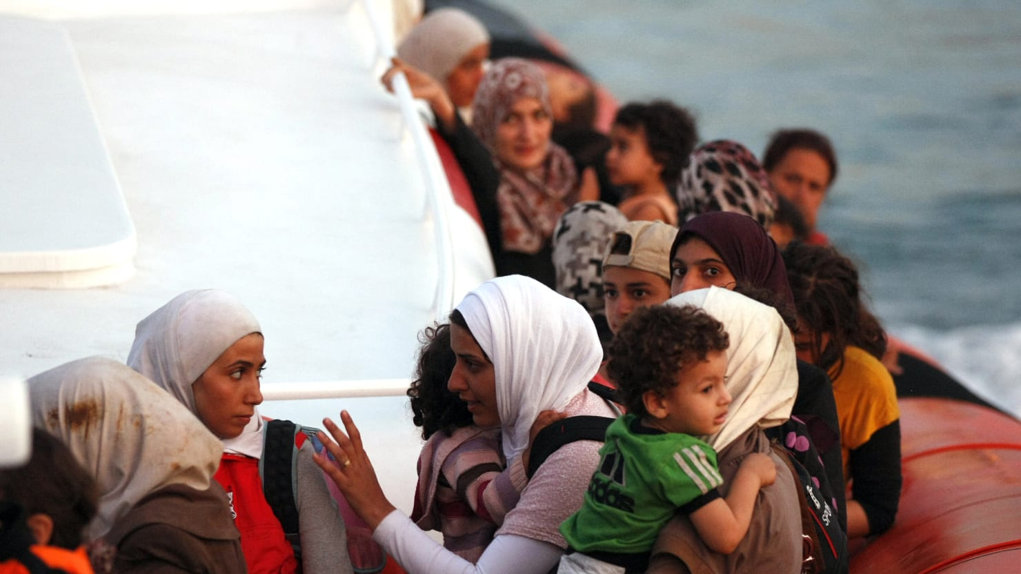 Refugees Head to Sicily in 'Biblical Exodus'