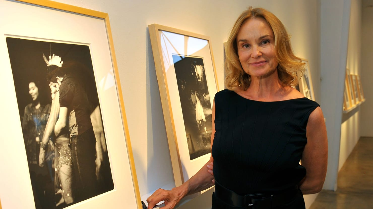 Jessica Lange Has a Thing For Clowns: Behind An Actress ...