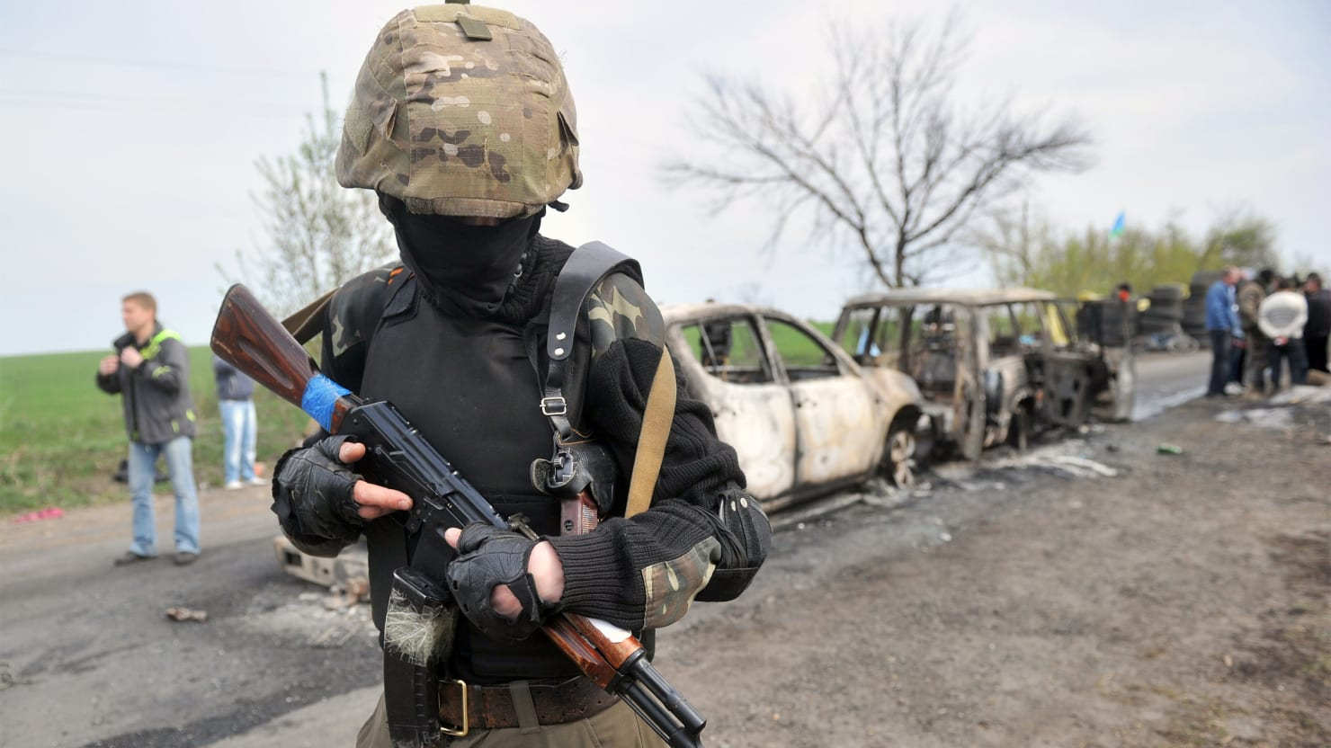 Deadly Shootout in Ukraine Raises Fears of Russian Invasion