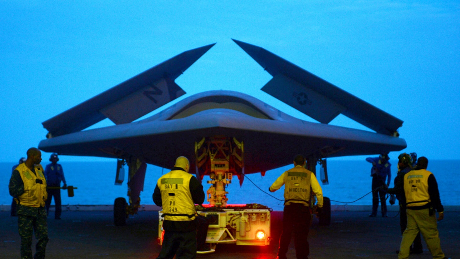 the killer drone goes stealthy just in time for a new cold war