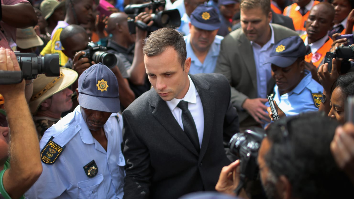 Pistorius's Ex Takes The Stand