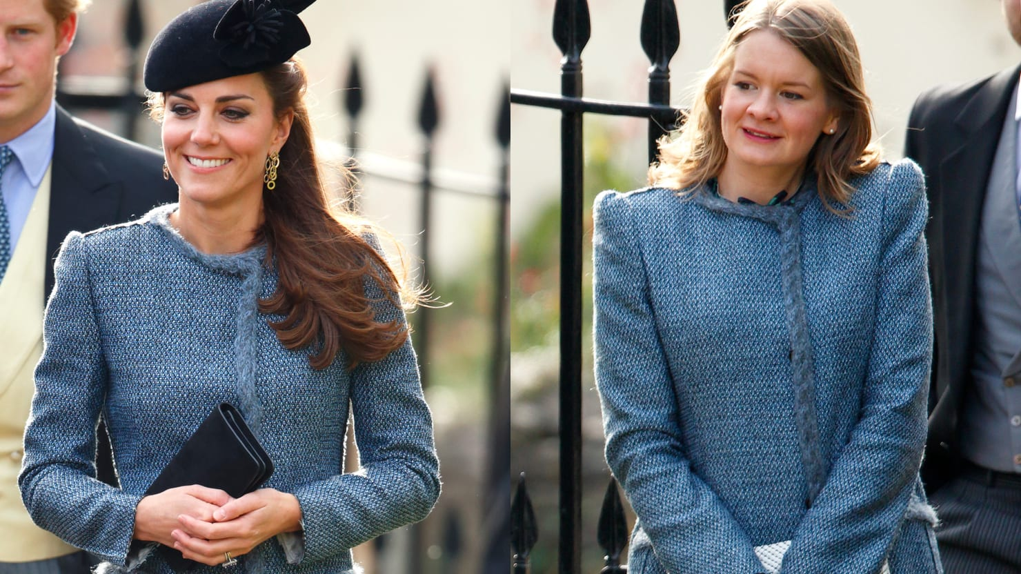 Wedding Guest Wears Same Outfit as Kate