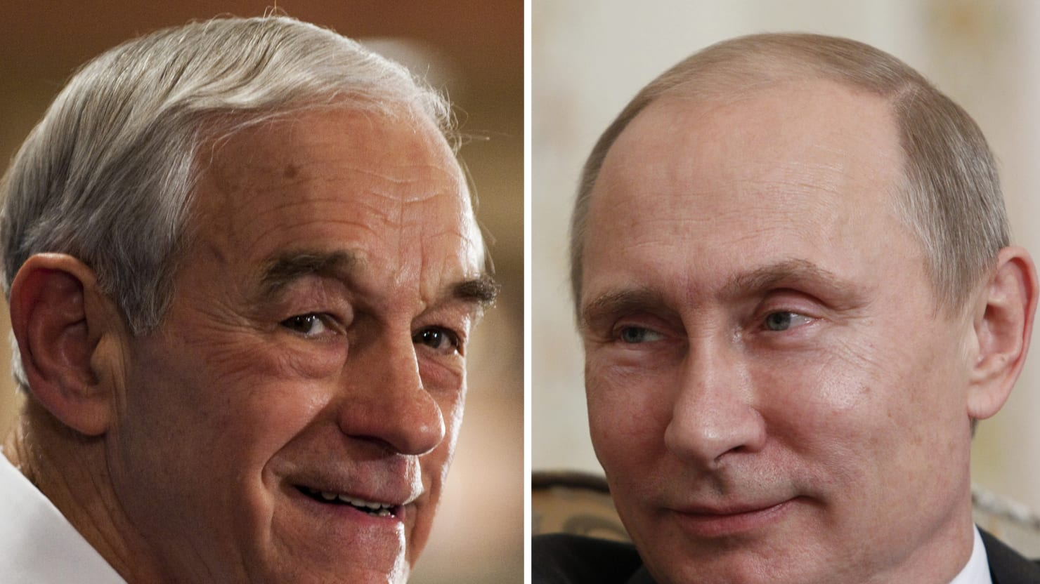 Ron Paul Is Supporting Russia's Illegal Occupation of Crimea