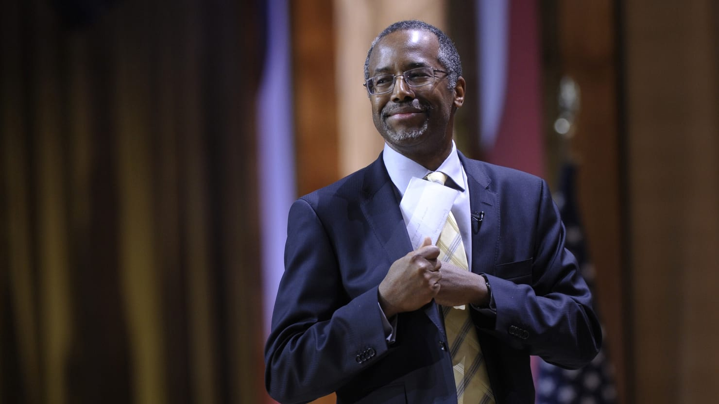 Ben Carson Was a Role Model for Black Teens Until He Sold Out to the Right