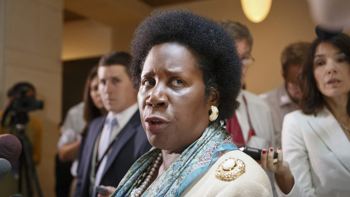 Image result for sheila jackson lee DENIES SEX ASSAULT