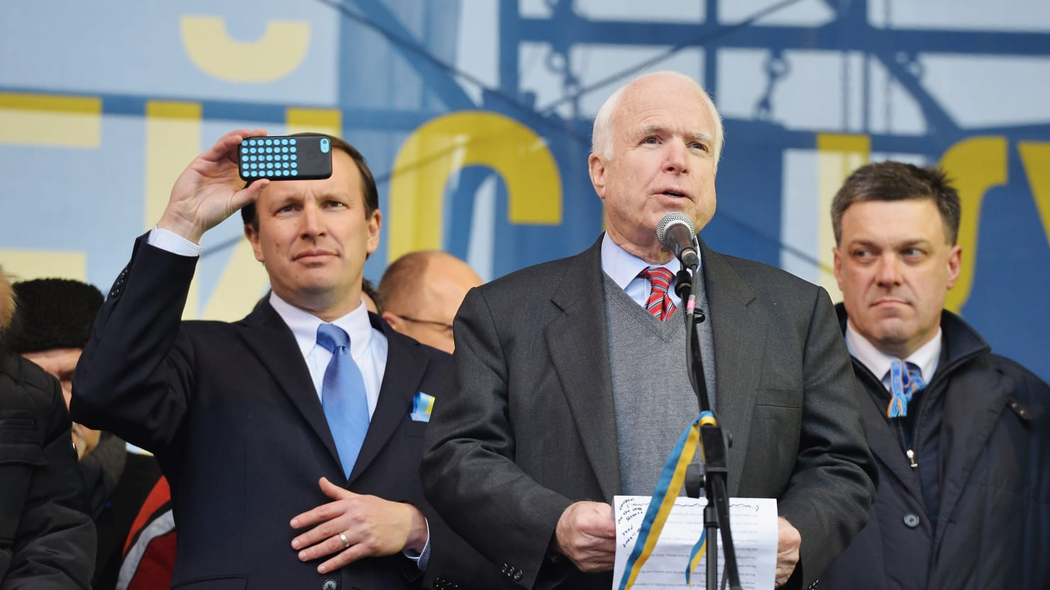 McCain To Lead Delegation To Ukraine