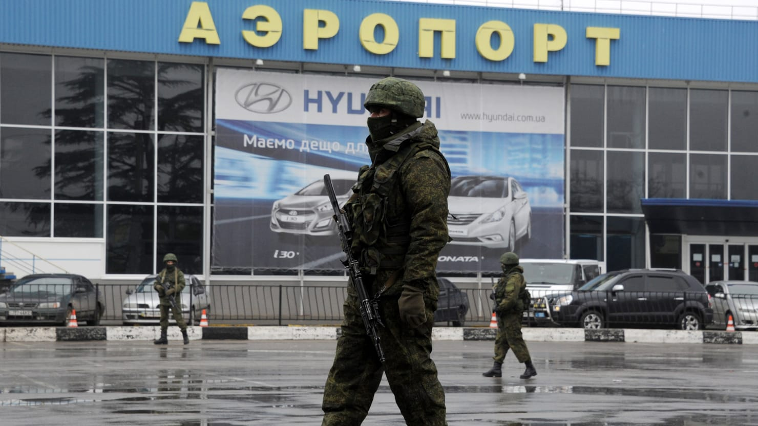 Exclusive: Russian 'Blackwater' Takes Over Ukraine Airport