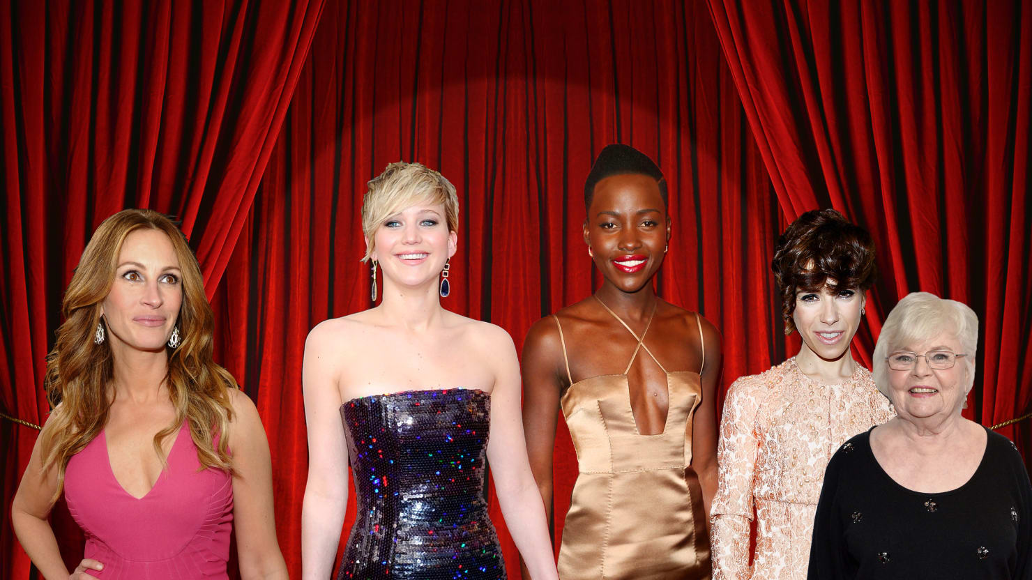 The Tightest Oscar Race: Jennifer Lawrence vs. Lupita Nyong'o for Best Supporting Actress