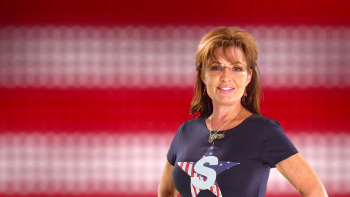 Former reality star sarah palin returns to television sarah palin released the promo for her new reality television show thursday it features electric guitars and a lot of flags altavistaventures Images