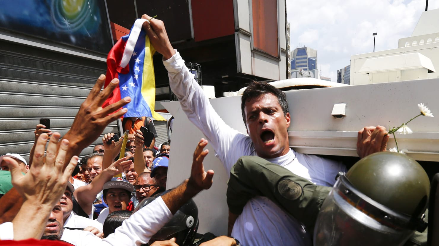 Exclusive: Read the Speech Venezuelan Opposition Leader Leopoldo López Made Before He Was Jailed