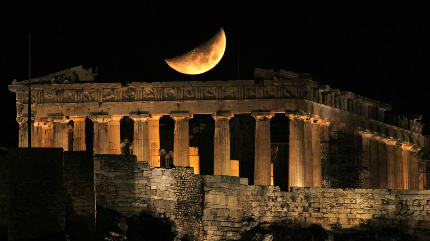Virgin Sacrifice And The Meaning Of The Parthenon
