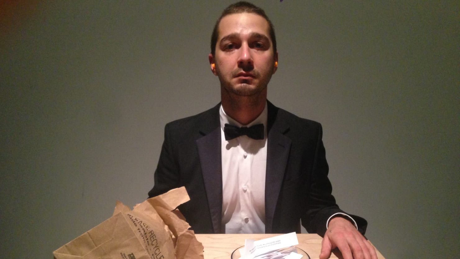 I Watched Shia LaBeouf Cry at His Weird LA Art Project #IAMSORRY