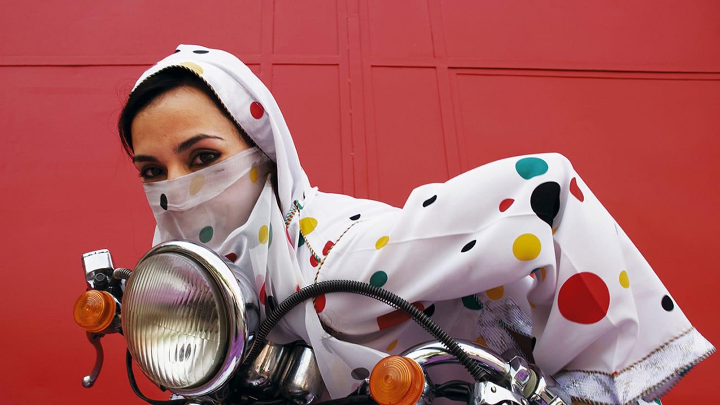 'Kesh Angels': The Biker Chicks of Morocco (Photos)