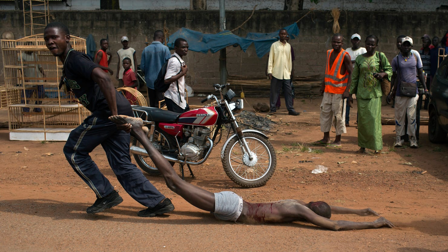 Religious Violence Engulfs Central African Republic Photos