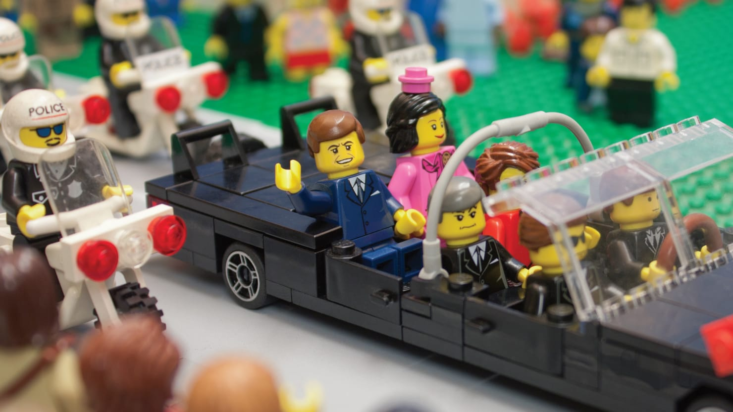 Presidential Assassins In Lego From Lincoln And Jfk To Ford Photos