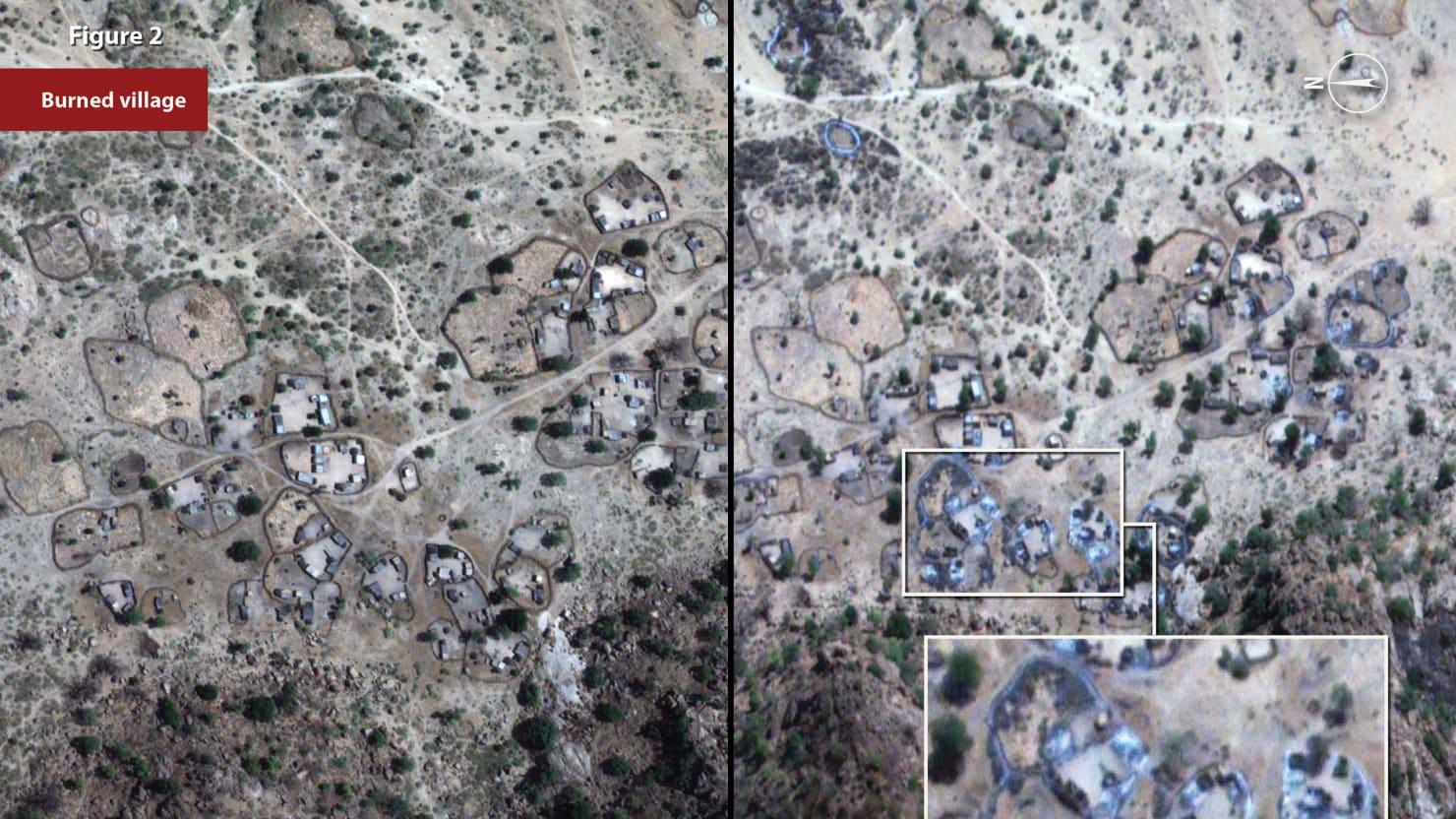 Satellites Correctly Predict Military Campaign Against Civilians in Sudan