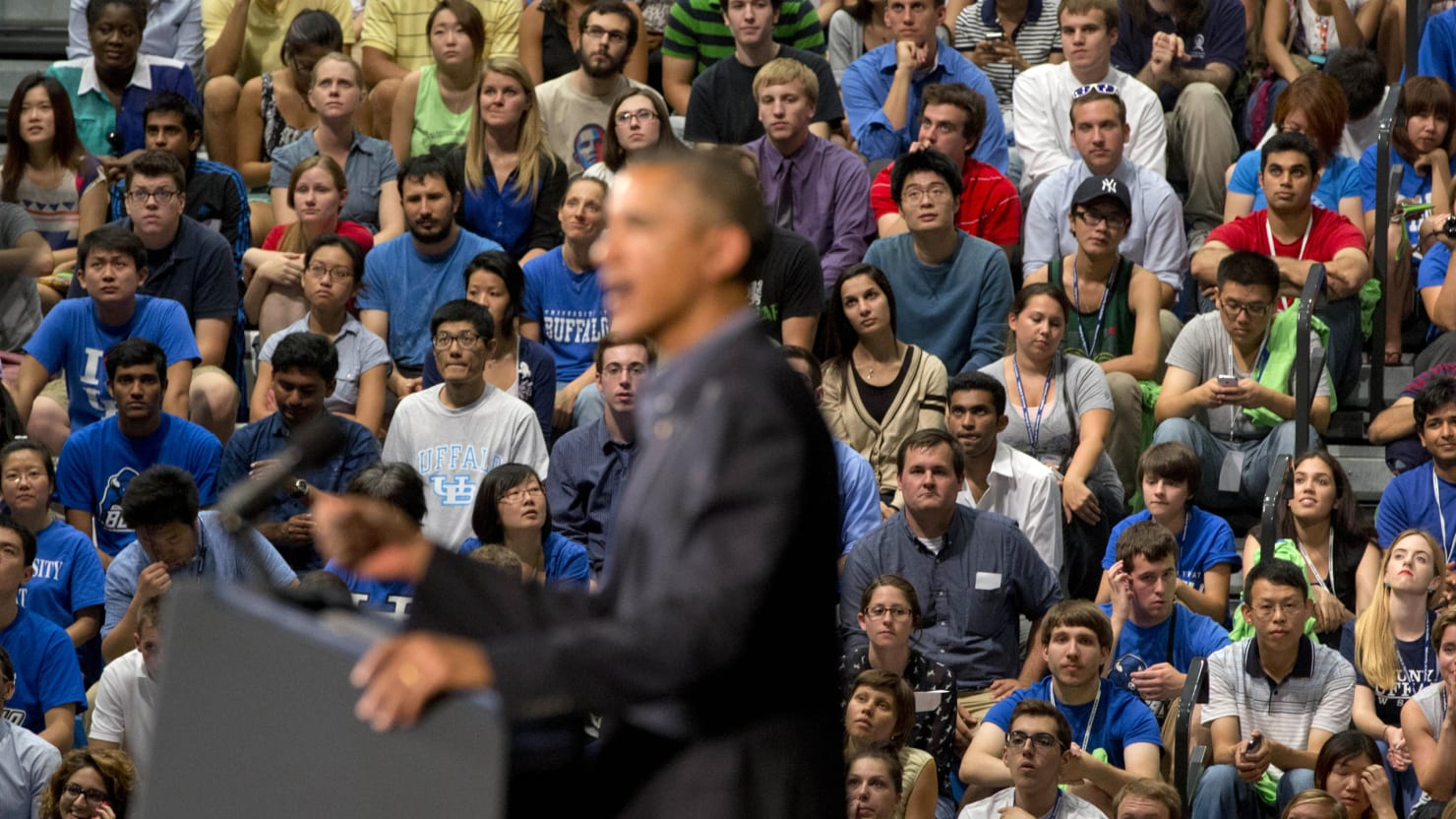 Are Young Voters Turning on Obama?