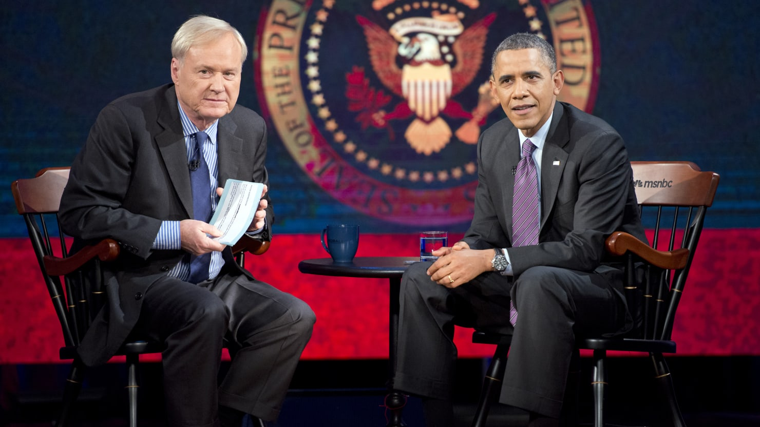 On 'Hardball,' Obama Touts HealthCare.gov, Dodges Clinton-Biden Talk