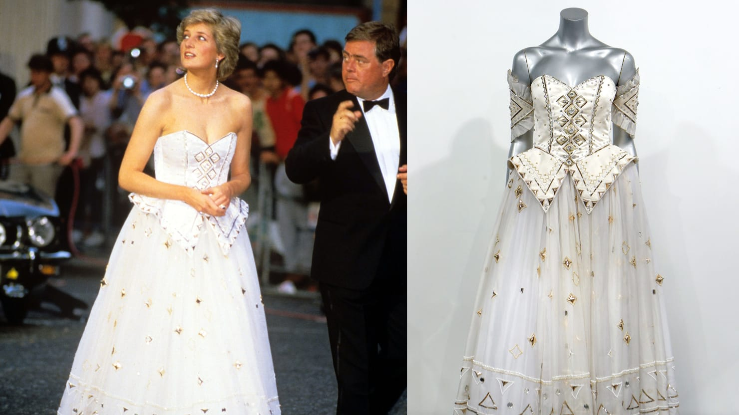 Princes Diana Dress Makes $140,000
