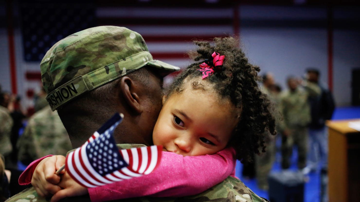 The Right-Wing is Furious Over Obama's Imaginary Attack on Military Families