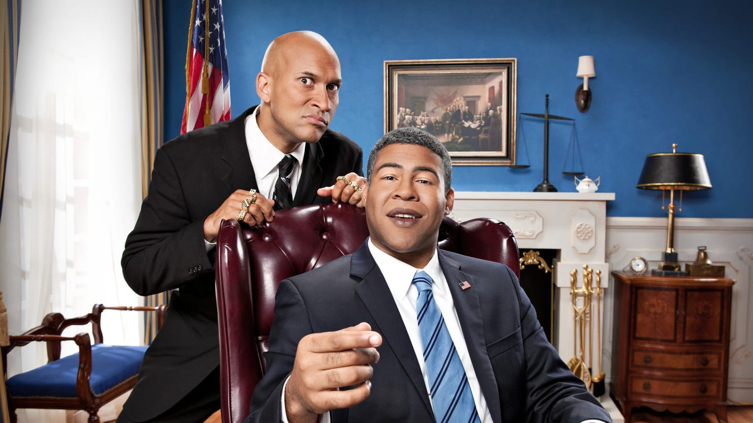 are key and peele biracial geniuses or are they just really funny?