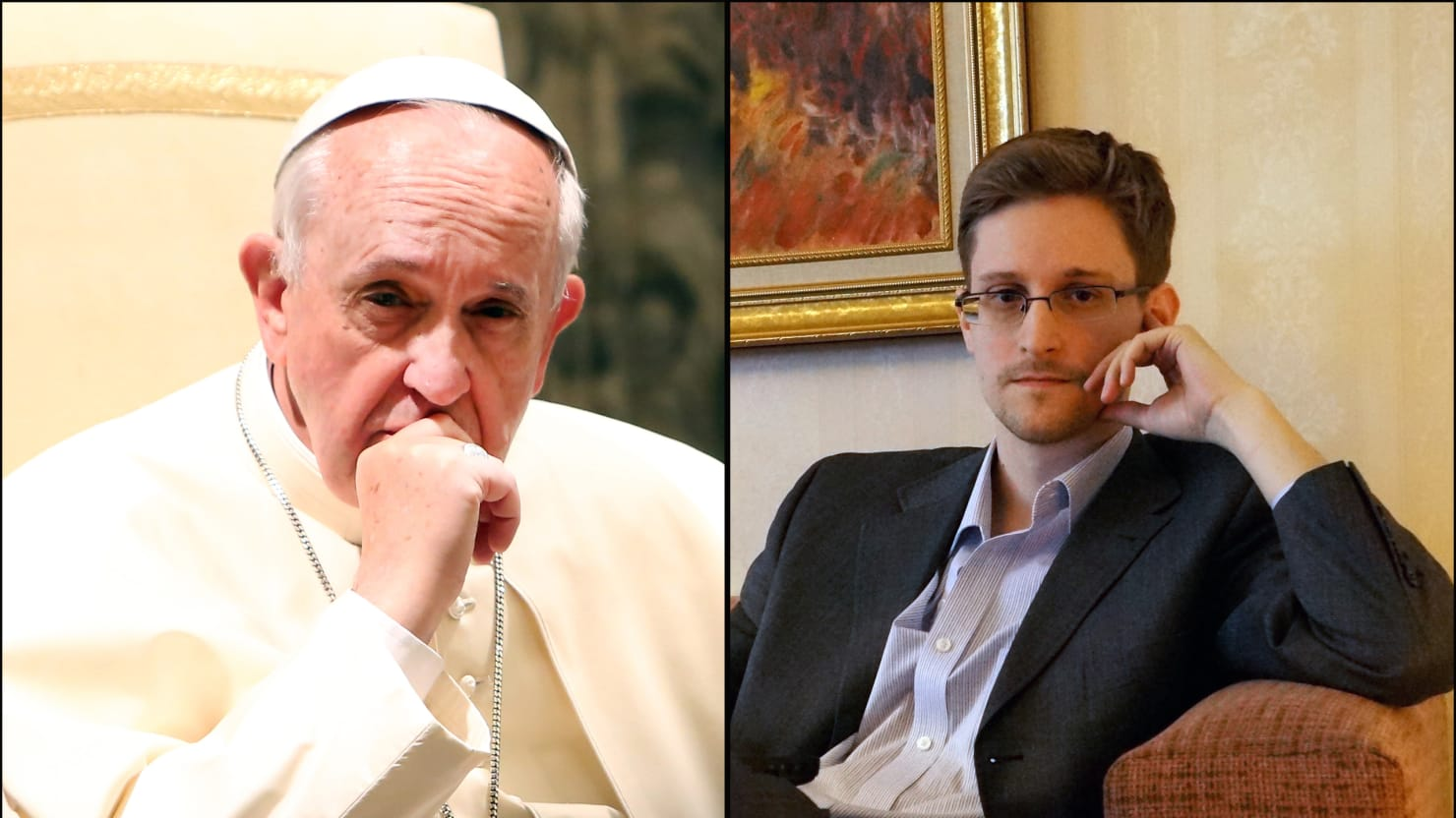 Edward Snowden and Pope Francis Broke America's Political Deadlock in 2013