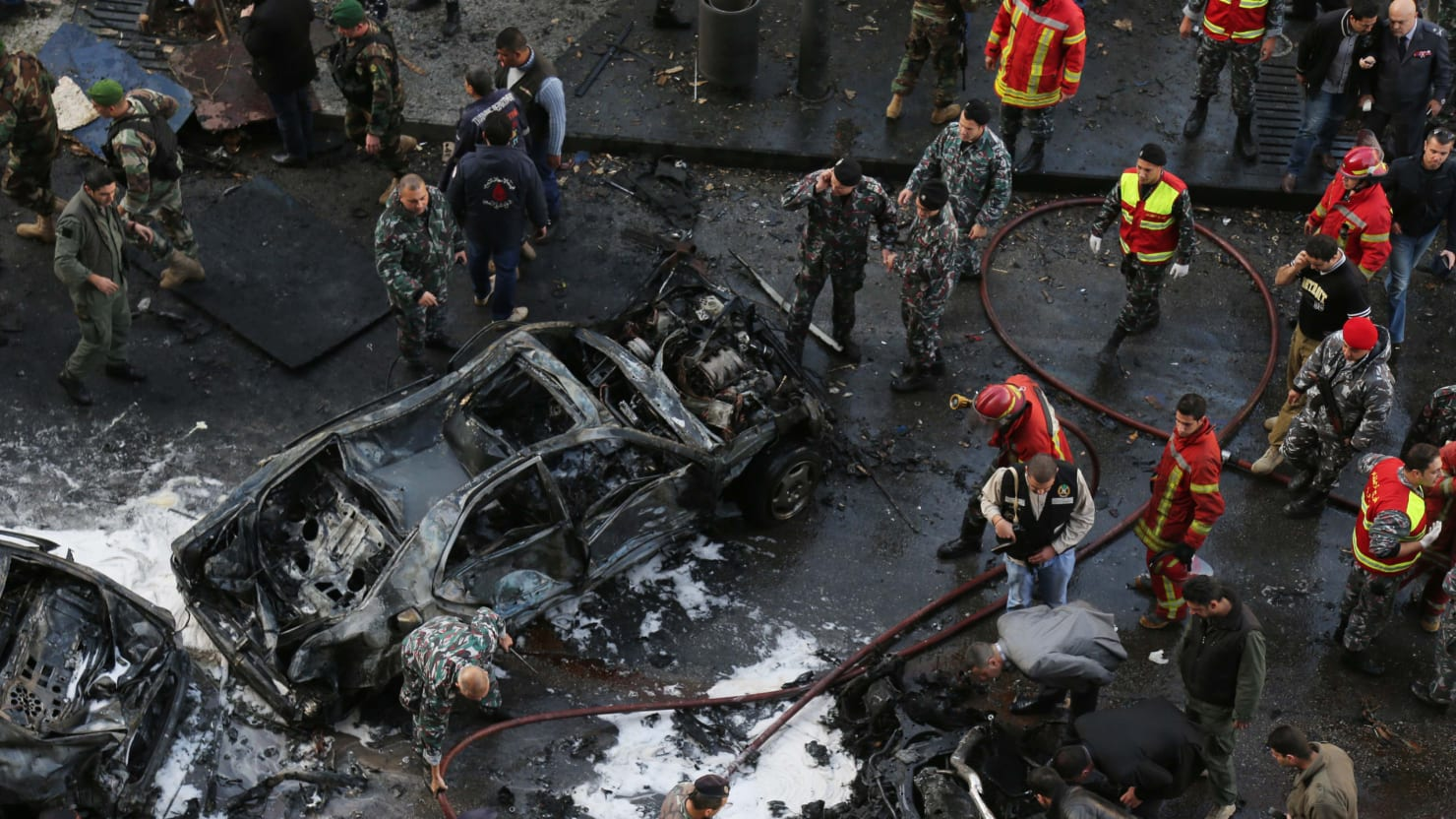 Assad Blamed For Beirut Car Bomb Assassination Of Lebanese Politician